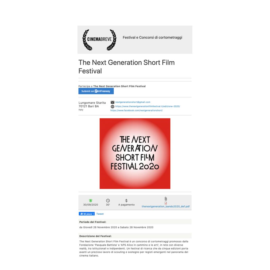 cinemabreve-bando-the-next-generation