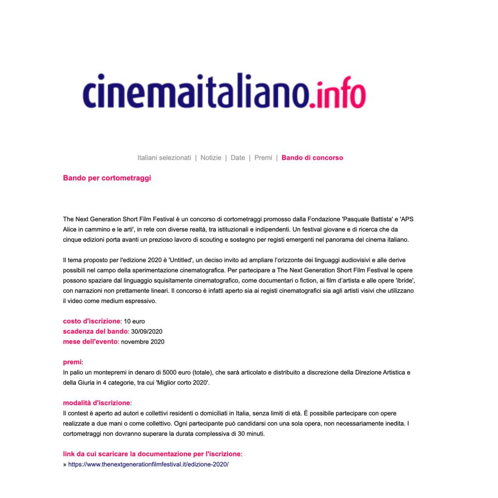cinemaitaliano-bando-the-next-generation