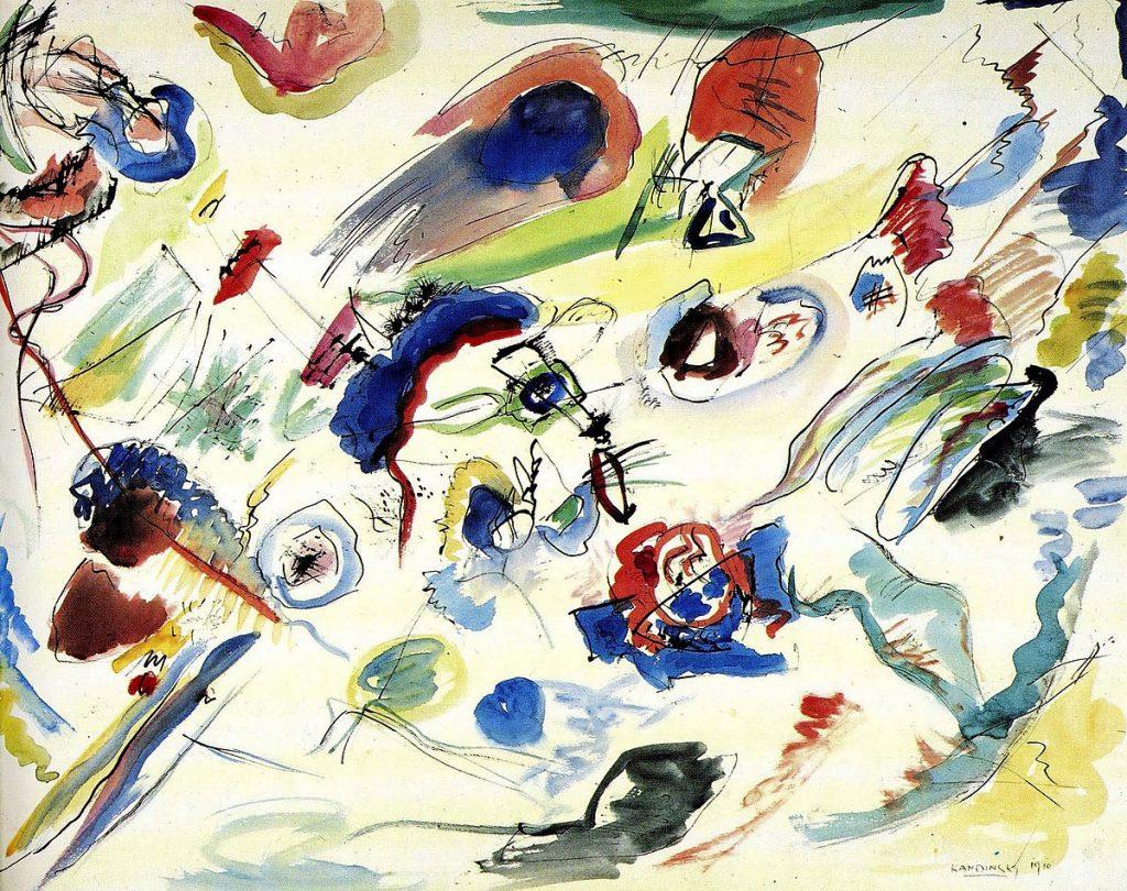 vasilij-kandinskij-senza-titolo-primo-acquerello-astratto-1910-acquarello-matita-e-inchiostro-di-china-su-carta-centre-pompidou-parigi